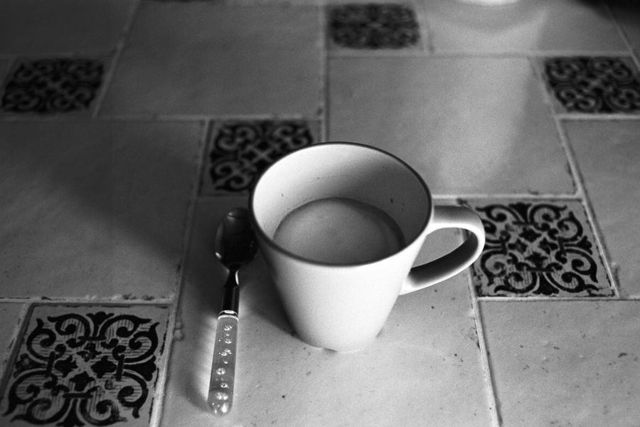 Milk on film